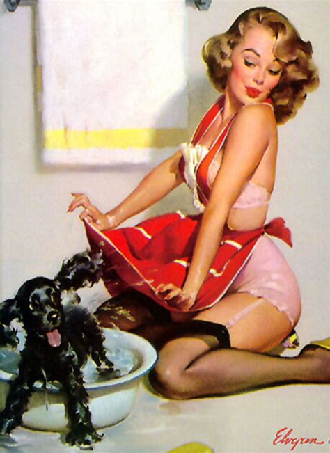 all that is fine: pin up girls