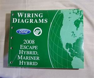2008 Ford Escape Mercury Mariner Hybrid Wiring Diagram