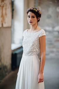 Brautkleid Vintage Schlicht : traumhaft leichte brautkleider von victoria r sche ~ Watch28wear.com Haus und Dekorationen