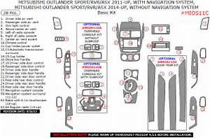 Mitsubishi Asx  Outlander Sport  Rvr 2011