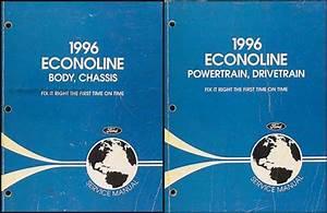 1996 Ford Econoline Van  U0026 Club Wagon Electrical