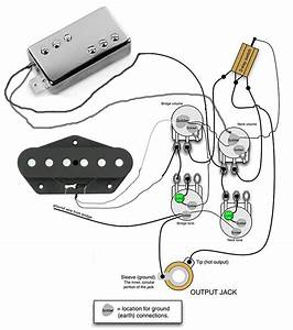 American Deluxe Telecaster Wiring Diagrams
