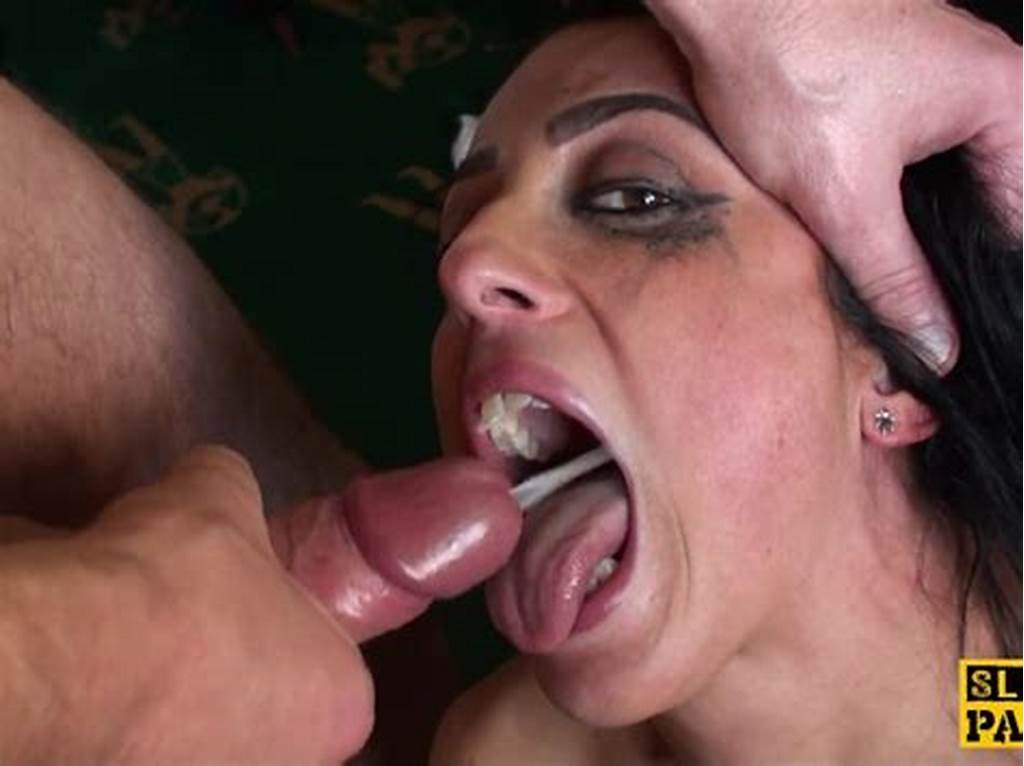 #Punished #British #Sub #Swallows #Masters #Cum
