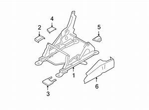 Ford Expedition Seat Track Cover  Front