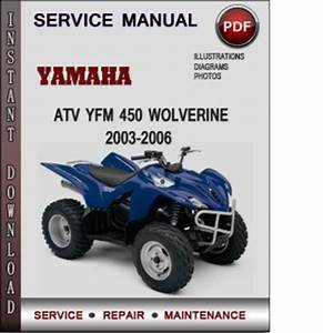 Yamaha Atv Yfm 450 Wolverine 2003