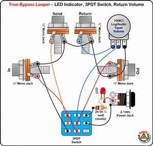 True Bypass Looper Wiring Diagram