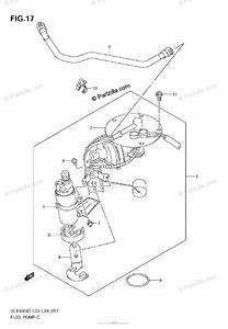 Suzuki Motorcycle 2005 Oem Parts Diagram For Fuel Pump