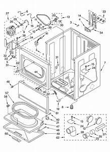 Whirlpool Geq8811ll1 Dryer Parts