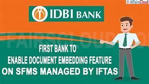Idbi Bank Introduces Document Embedding In Lc  Bg