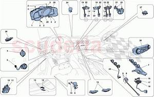 Ferrari F12 Tdf Dashboard And Tunnel Instruments Parts