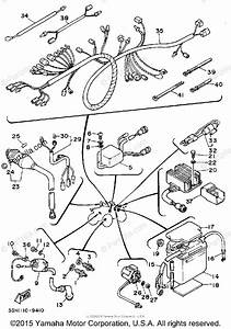 Yamaha Atv 1989 Oem Parts Diagram For Electrical