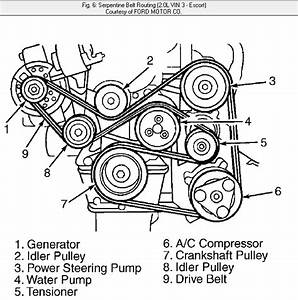 31 2007 Ford Fusion Serpentine Belt Diagram