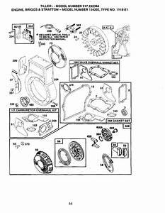 Page 27 Of Craftsman Tiller 917 292394 User Guide