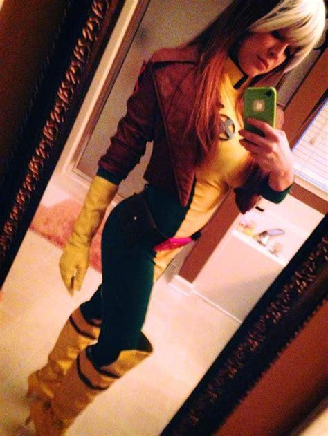 foto de found Tessa Fowler cosplays Rogue from X Men : cosplay