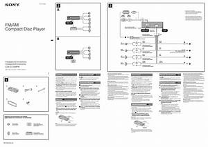 Sony Cdx Connections Manual