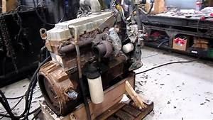 1998 International Dt466e Engine Running