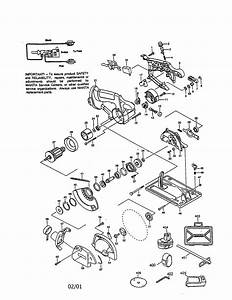 Makita 5046dwb Circular Saw Parts