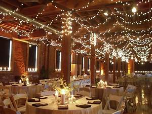 wedding ceiling decorations swagged twinkle lights With ceiling lights for wedding reception