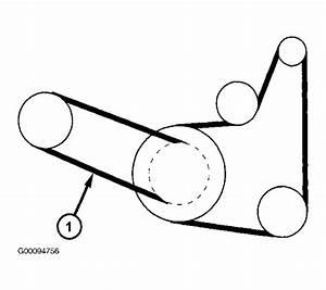 2002 Dodge Caravan Serpentine Belt Routing And Timing Belt