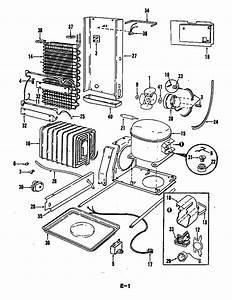 Magic Chef Rnd22ey 5m78b Refrigerator Parts