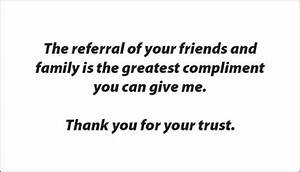 Referral Quotes... Inspirational Referral Quotes