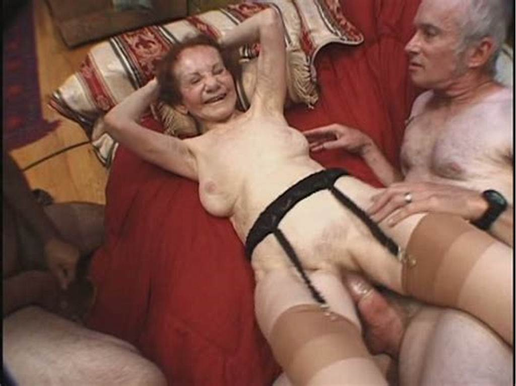 #Granny #Gigi #Lays #Immovable #While #Being #Drilled #In #Group