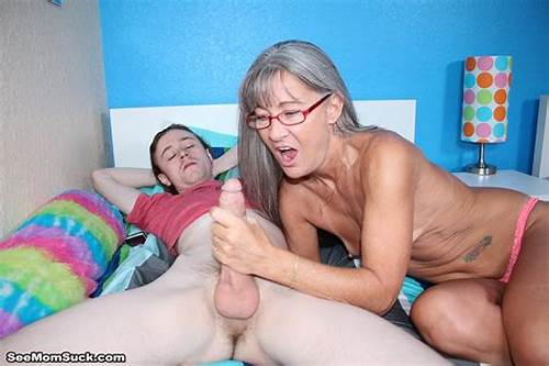 Penis Mom Stepmom Ejaculation Grey Haired Sucking #Want #Your #Cock #Sucked #Step #Son?