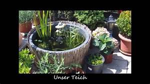 Hochteich Selber Bauen : unsere terrasse im sommer 2012 youtube ~ A.2002-acura-tl-radio.info Haus und Dekorationen