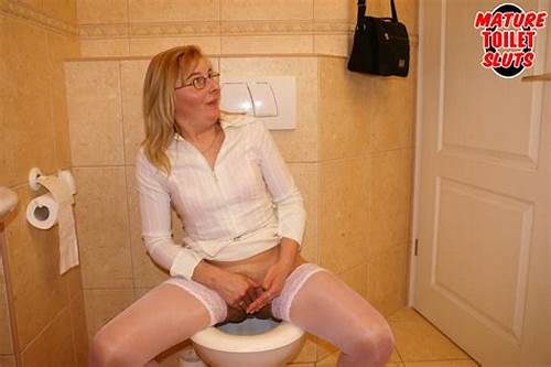 Restroom Porn With Euro Amateurs #Mature #Toilet #Slut