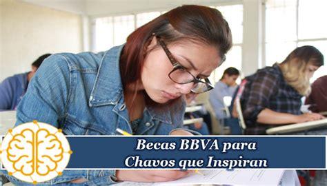 La fundación del banco bbva busca mejores oportunidades para fomentar la movilidad social a través de la educación, por lo cual a través del programa becas bbva chavos que inspiran apoya. Becas BBVA para Chavos que Inspiran - Secundaria - 【Básica ...