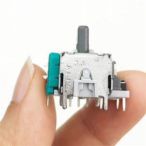 2pcs 3d Analog Joystick Stick Sensor Module Potentiometers