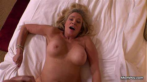 Blonde Head Milf With Fine Breasty
