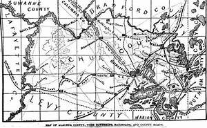 Florida History  Who Is Alachua County Named After  And