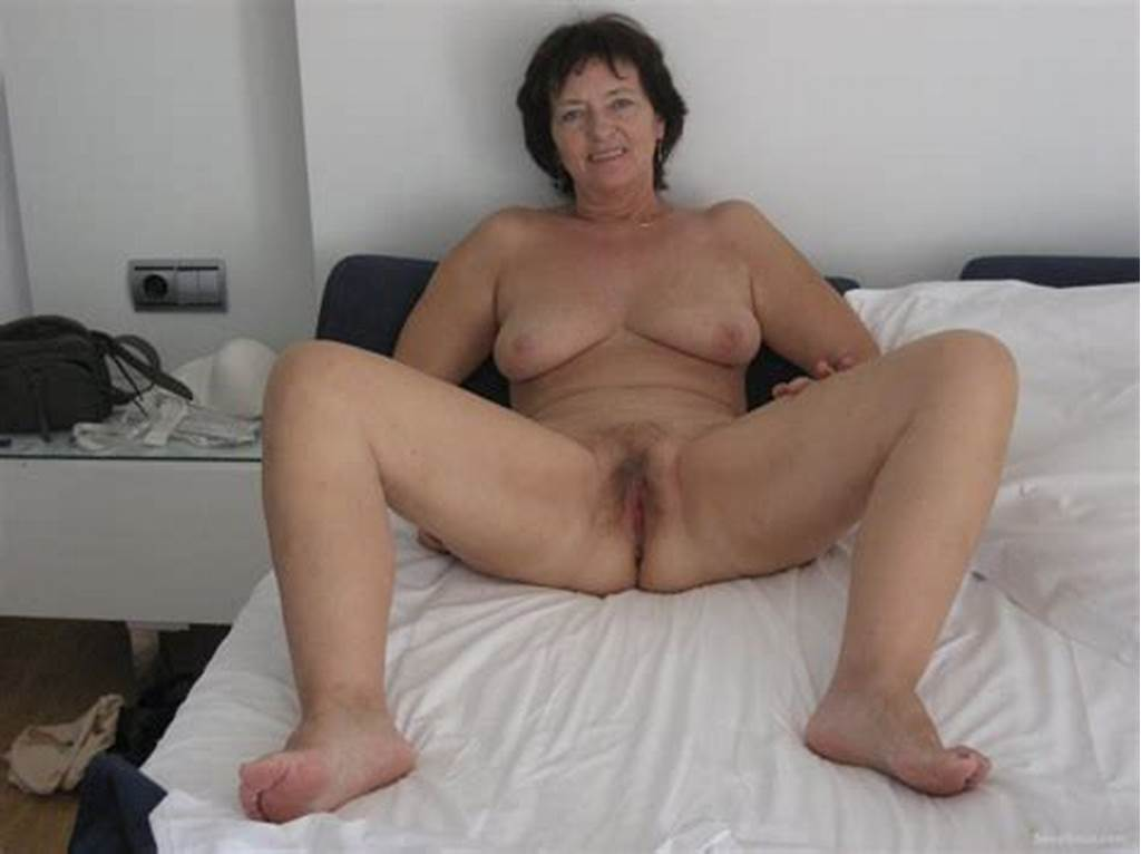#Mature #Woman #Stretches #Her #Hairy #Pussy