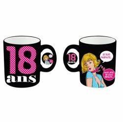 Cadeau Femme 18 Ans : mug tasse c ramique femme anniversaire femme 18 ans idee cadeau neuf ~ Teatrodelosmanantiales.com Idées de Décoration