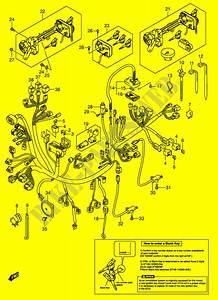 Wiring Harness  An650k5 Imobi  For Suzuki Burgman 650 2005
