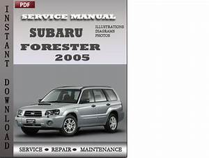 Subaru Forester Factory Service Manual