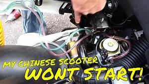My Chinese Scooter Wont Idle Or Start Check The Fuel Petcock
