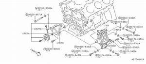 Nissan Quest Accessory Drive Belt Idler Pulley Bolt