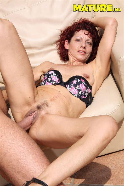 Skinny Mature Slut In Horny Action