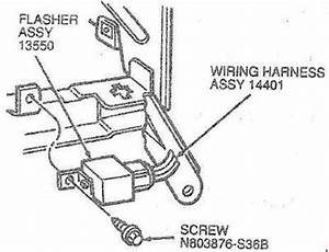 Ford Taurus  1985  U2013 1995   U2013 Fuse Box Diagram