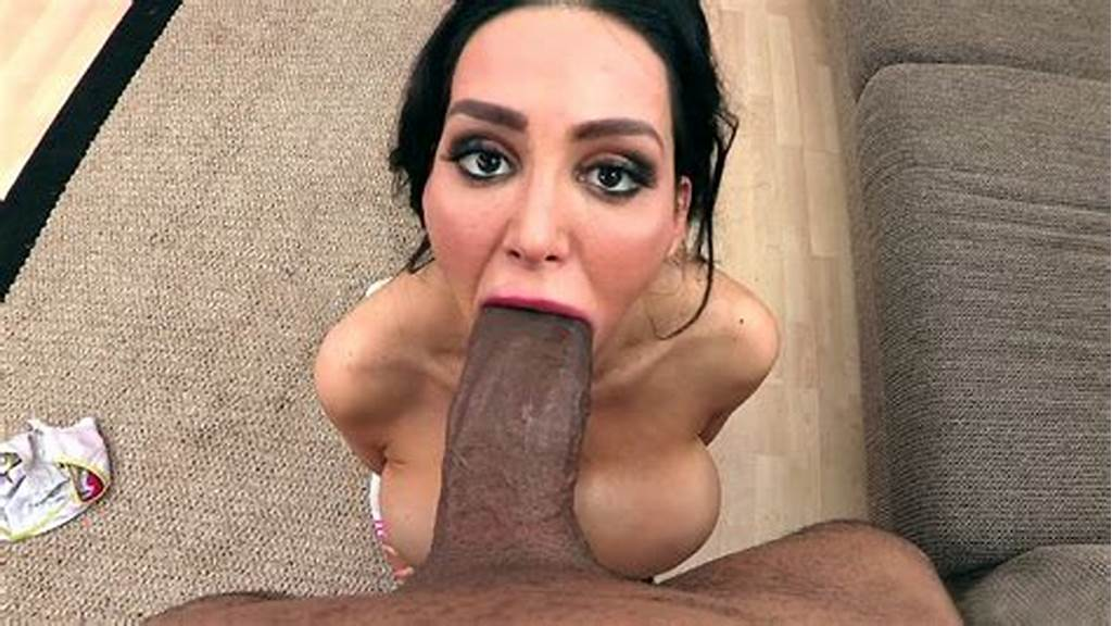 #Amy #Anderssen #Got #Down #On #Her #Knees #To #Suck #His #Enormous