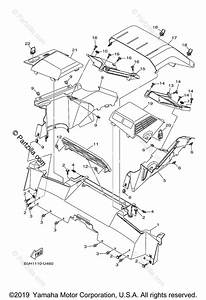 Yamaha Side By Side 2020 Oem Parts Diagram For Carrier 2