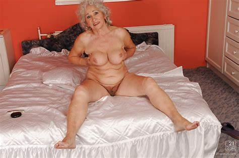 Granny Stripping And Strapon