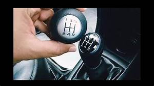 Car Gear Shift Knob Replacement    Upgrade For 5 Speed