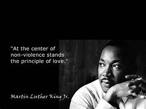 Quotes and Images about Nonviolence – Non-Violence Quote ...