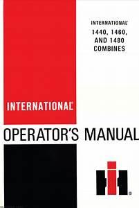 International 1440 1460 1480 Combine Manual Pdf  U2013 Farm