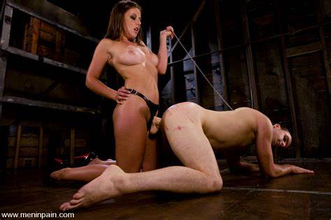 Large Boobed Doninatrix Playing With Her Female Porn Slave