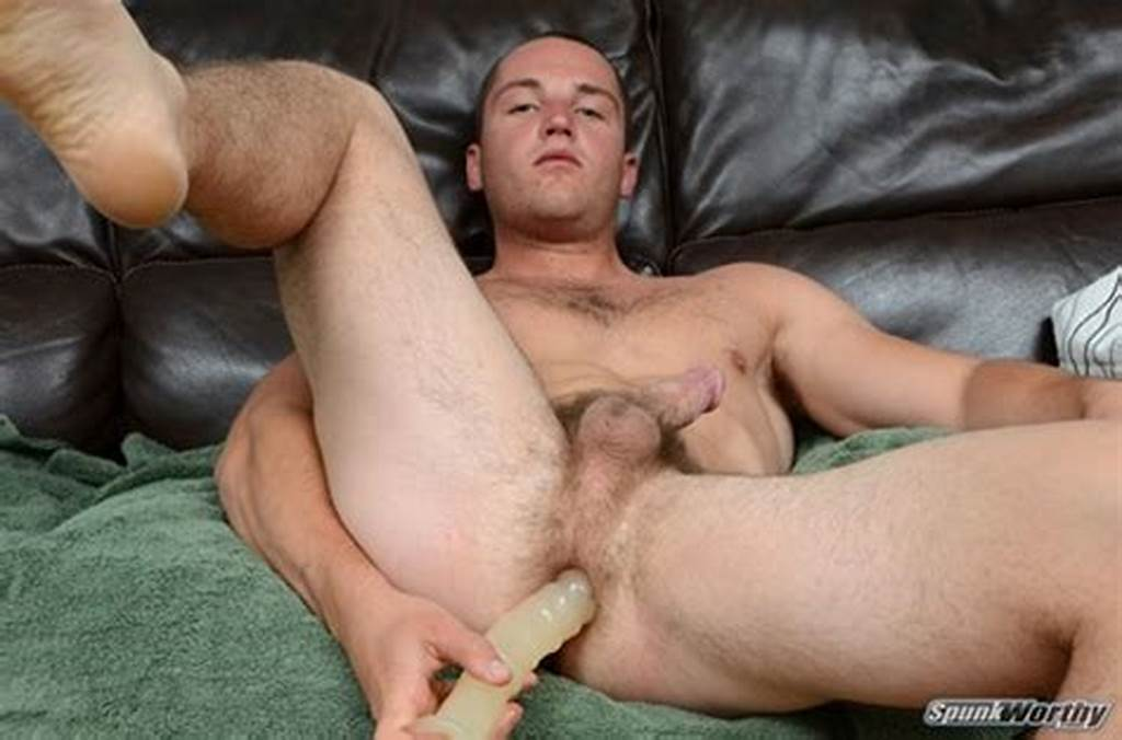 #Handsome #Straight #Dude #Sean #Fucks #His #Ass #With #Large #Dildo