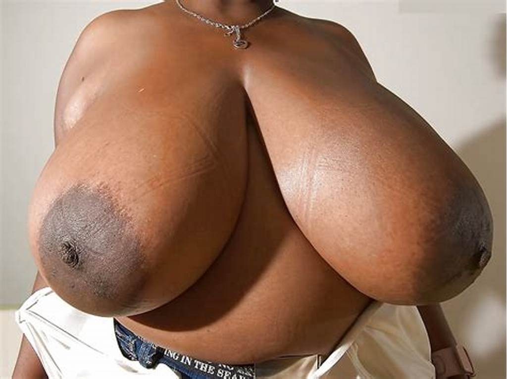 #Huge #Black #Boobs